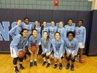 North Carolina School of Science & Math Unicorns Girls Varsity Basketball Winter 17-18 team photo.