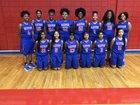 Parkview Patriots Girls Varsity Basketball Winter 17-18 team photo.