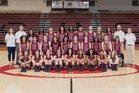 Springdale Bulldogs Girls Varsity Basketball Winter 17-18 team photo.