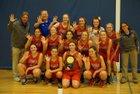 Weld Central Rebels Girls Varsity Basketball Winter 17-18 team photo.