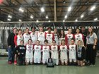 Fontainebleau Bulldogs Girls Varsity Basketball Winter 17-18 team photo.