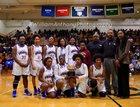 Plymouth Vikings Girls Varsity Basketball Winter 17-18 team photo.