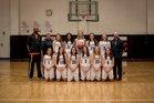 Aztec Tigers Girls Varsity Basketball Winter 17-18 team photo.