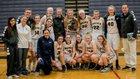 Clarkston Wolves Girls Varsity Basketball Winter 17-18 team photo.