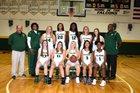 Saint Stephen's Episcopal Falcons Girls Varsity Basketball Winter 17-18 team photo.
