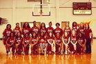 Crossett Eagles Girls Varsity Basketball Winter 17-18 team photo.