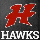 Hancock Hawks Girls Varsity Basketball Winter 17-18 team photo.