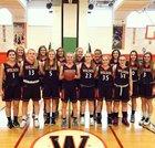 Wilson Lakemen Girls Varsity Basketball Winter 17-18 team photo.