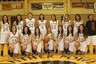 Gadsden Panthers Girls Varsity Basketball Winter 17-18 team photo.