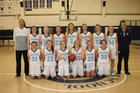 Wilton Warriors Girls Varsity Basketball Winter 17-18 team photo.