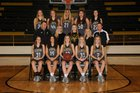 Clinton Yellowjackets Girls Varsity Basketball Winter 17-18 team photo.