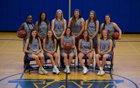 Westhill Warriors Girls Varsity Basketball Winter 17-18 team photo.