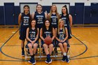 Buffalo Island Central Mustangs Girls Varsity Basketball Winter 17-18 team photo.