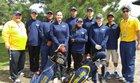 Highland Hornets Girls Varsity Golf Spring 16-17 team photo.