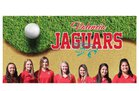 Valencia Jaguars Girls Varsity Golf Spring 16-17 team photo.
