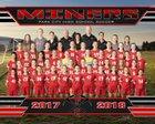 Park City Miners Girls Varsity Soccer Fall 17-18 team photo.