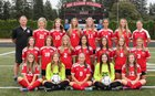 Camas Papermakers Girls Varsity Soccer Fall 17-18 team photo.