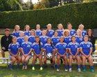 Bellevue Christian Vikings Girls Varsity Soccer Fall 17-18 team photo.