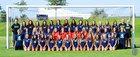 Syracuse Titans Girls Varsity Soccer Fall 17-18 team photo.