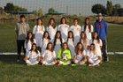 Los Lunas Tigers Girls Varsity Soccer Fall 17-18 team photo.