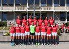 Kennedy Catholic Lancers Girls Varsity Soccer Fall 17-18 team photo.