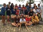 Goshen RedHawks Girls Varsity Soccer Fall 17-18 team photo.