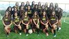 Cibola Cougars Girls Varsity Soccer Fall 17-18 team photo.