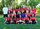 Albuquerque Academy Chargers Girls Varsity Soccer Fall 17-18 team photo.