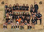 Royal Knights Girls Varsity Soccer Fall 17-18 team photo.