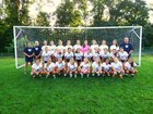New Hope-Solebury Lions Girls Varsity Soccer Fall 17-18 team photo.