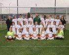 Richland Bombers Girls Varsity Soccer Fall 17-18 team photo.