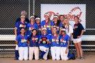 El Segundo Eagles Girls JV Softball Spring 16-17 team photo.