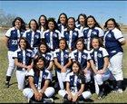 Goddard Rockets Girls JV Softball Spring 16-17 team photo.