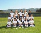 Leland Chargers Girls JV Softball Spring 16-17 team photo.