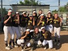 Saint Francis Lancers Girls JV Softball Spring 16-17 team photo.