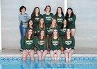 Hope Christian Huskies Girls Varsity Swimming Winter 17-18 team photo.