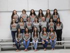 Belen Eagles Girls Varsity Swimming Winter 17-18 team photo.