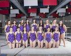 Miyamura Patriots Girls Varsity Swimming Winter 17-18 team photo.