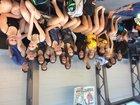 Jonesboro Hurricane Girls Varsity Swimming Winter 17-18 team photo.