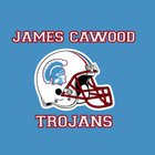 Cawood Trojans Boys Varsity Football Fall 07-08 team photo.