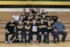 Archbishop Wood Vikings Boys Varsity Wrestling Winter 18-19 team photo.
