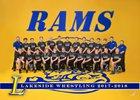 Lakeside Rams Boys Varsity Wrestling Winter 18-19 team photo.