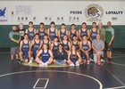 Atrisco Heritage Academy Jaguars Boys Varsity Wrestling Winter 18-19 team photo.