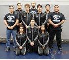 Onate Knights Boys Varsity Wrestling Winter 18-19 team photo.