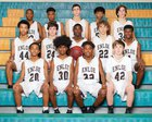 Enloe Eagles Boys JV Basketball Winter 18-19 team photo.