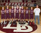 Laguna Beach Breakers Boys JV Basketball Winter 18-19 team photo.