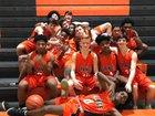 Orange Panthers Boys JV Basketball Winter 18-19 team photo.