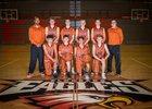 Eldorado Eagles Boys JV Basketball Winter 18-19 team photo.