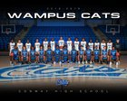 Conway Wampus Cats Boys JV Basketball Winter 18-19 team photo.