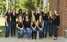 The Woodlands Highlanders Girls Varsity Basketball Winter 13-14 team photo.